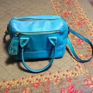 Kate Spade Turquoise Leather purse
